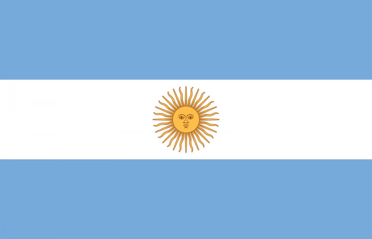 Resultado de imagen para argentina bandera oficial