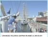 Los buques escuela en Puerto Madero
